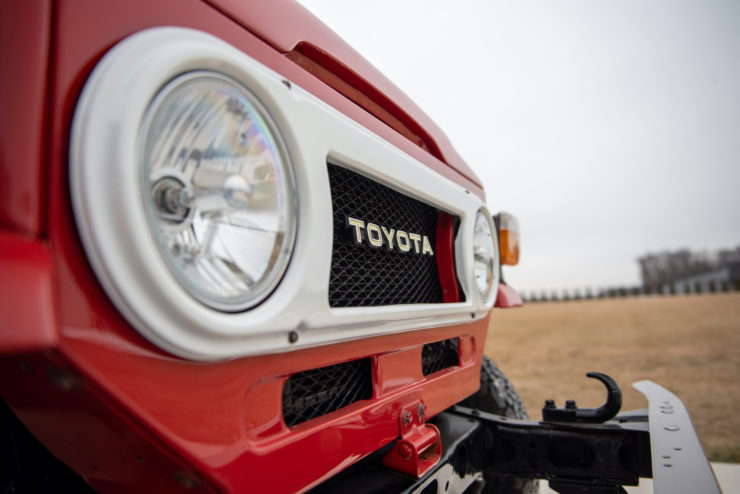 Toyota FJ40 Land Cruiser Headlight