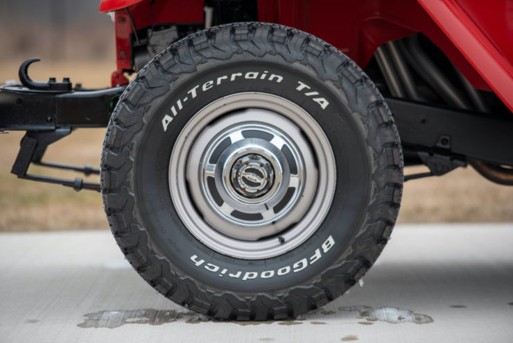 Toyota FJ40 Land Cruiser Wheels