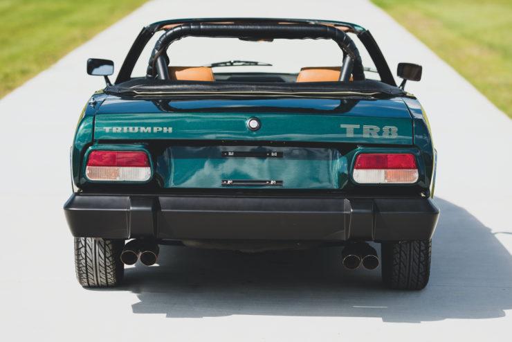 Triumph TR8 Back