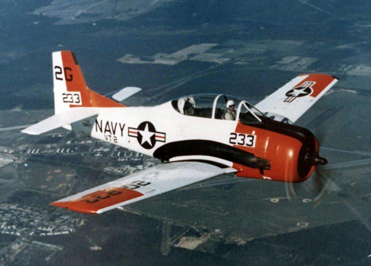 U.S. Navy North American T-28B Trojan