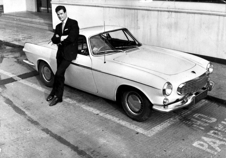 Volvo P1800 The Saint Roger Moore television series