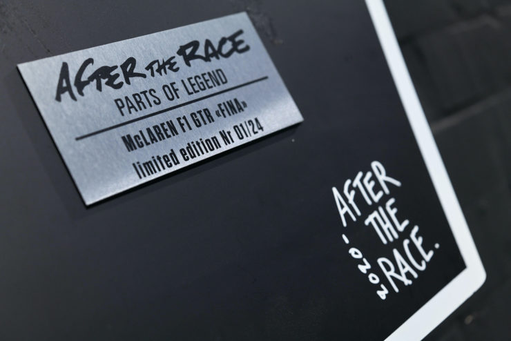 After The Race Badge