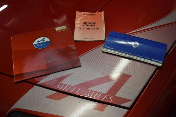 Alpine GTA V6 Turbo Mille Miles 12