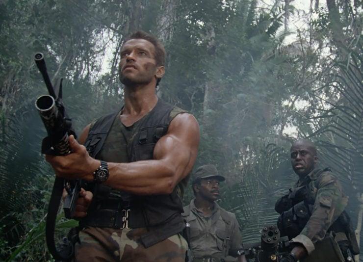 Arnold Schwarzenegger Predator Watch 2