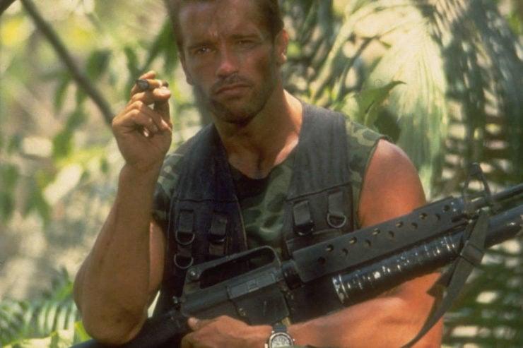 Arnold Schwarzenegger Predator Watch