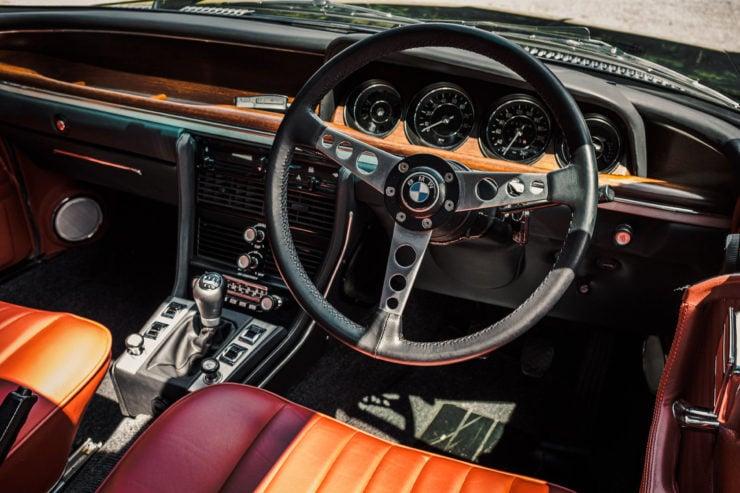 BMW E9 Interior 2