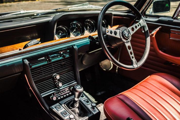 BMW E9 Interior