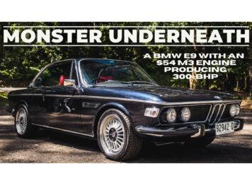 BMW E9 Restomod Classic Car Hero Main