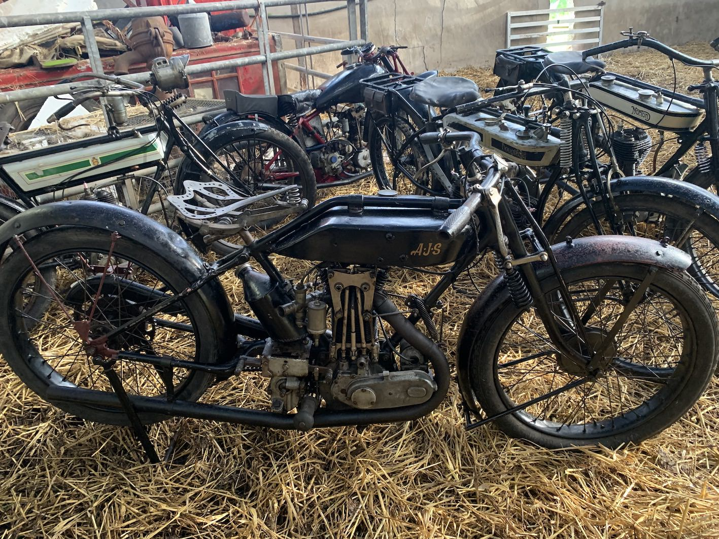 Barn Find Motorcycles Joe Ryan