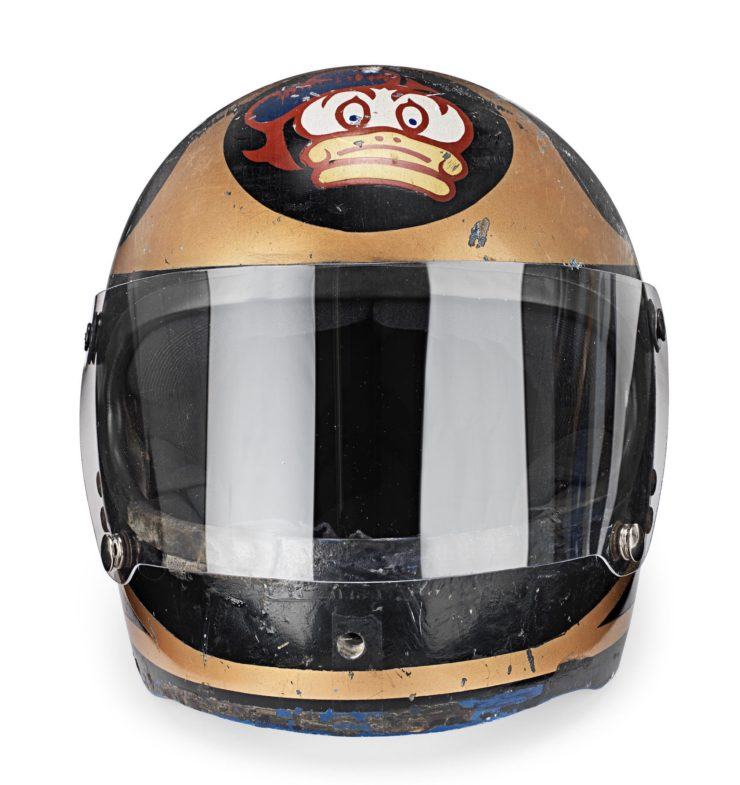 Barry Sheene AGV X3000 Prototype Helmet 1