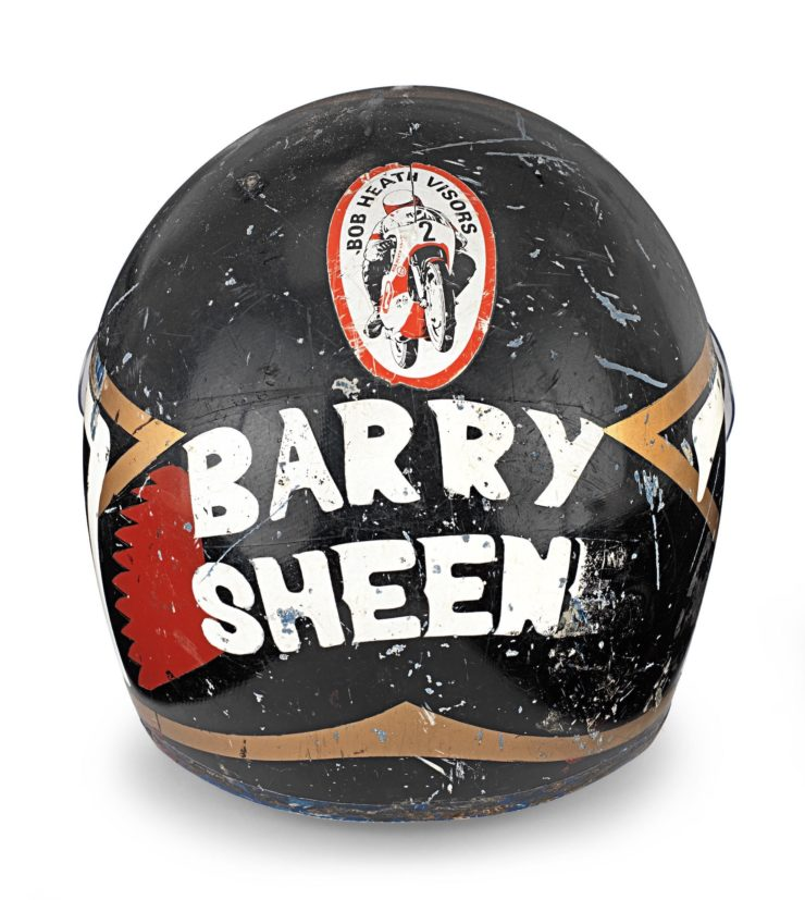 Barry Sheene AGV X3000 Prototype Helmet 2