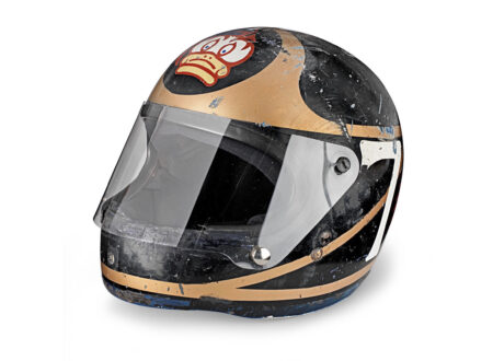 Barry Sheene AGV X3000 Prototype Helmet