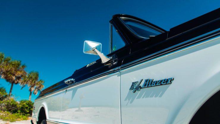Chevrolet K5 Blazer Restomod Paint