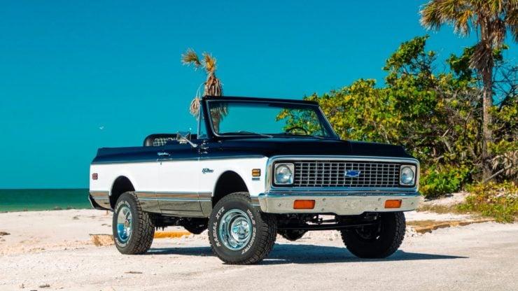 Chevrolet K5 Blazer Restomod Rims
