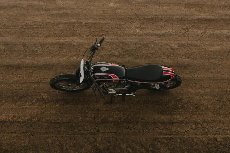Custom Yamaha XS650 Flat Tracker 1
