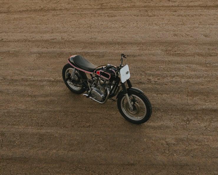 Custom Yamaha XS650 Flat Tracker