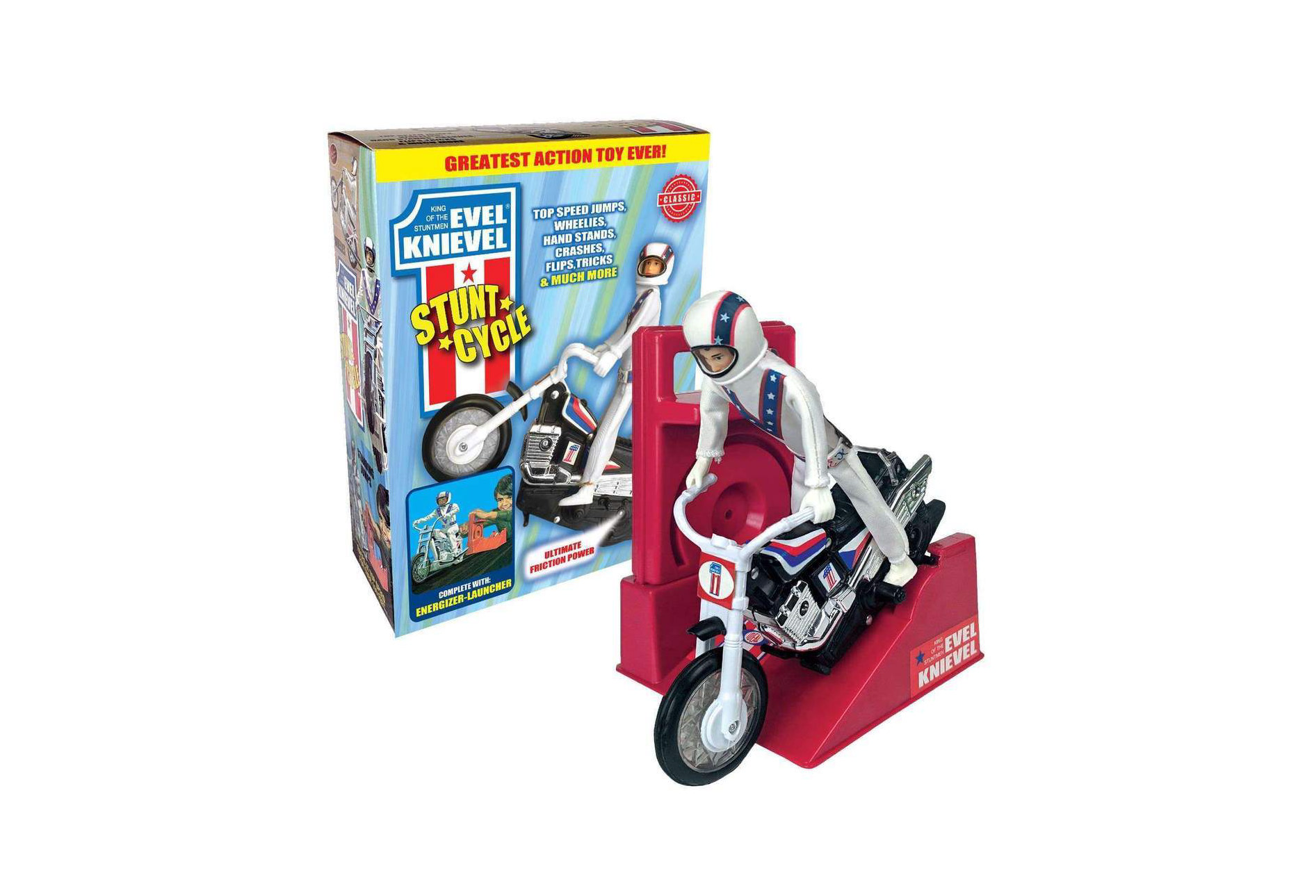 Evel Knievel Stunt Cycle Toy