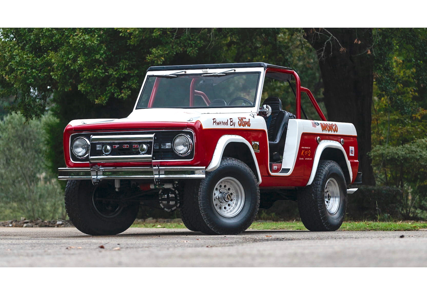 1 of 12 – A Rare Ford Bronco Desert Racer Built By K Bar S