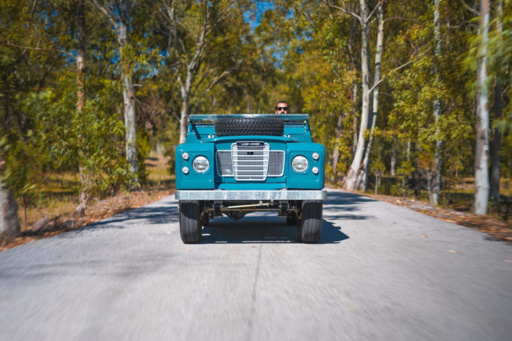 Land Rover Series Driving