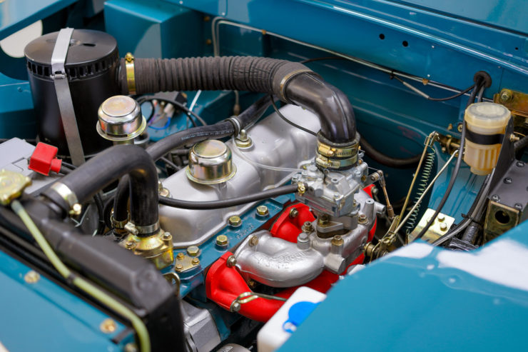 Land Rover Series Engine