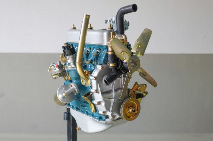 Land Rover Series Overhauled Engine