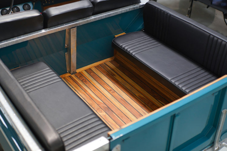 Land Rover Series Rear Seats