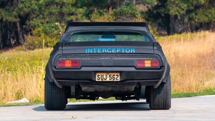 Mad Max Interceptor Back