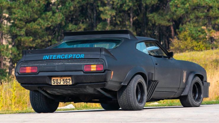 Mad Max Interceptor Rear
