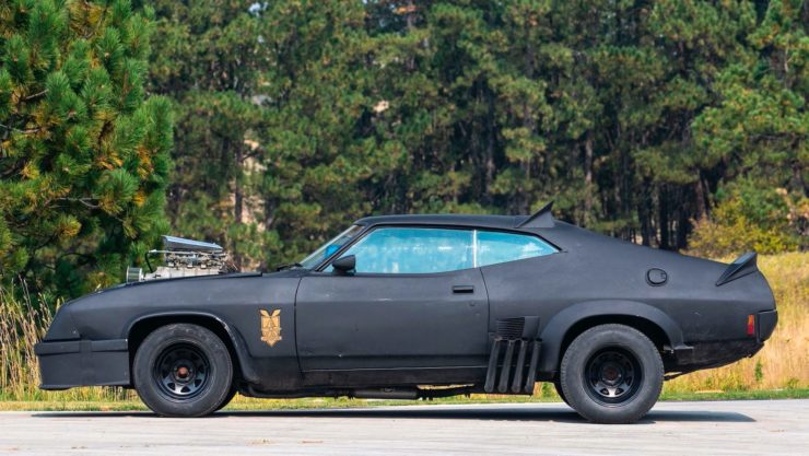 Mad Max Interceptor Side