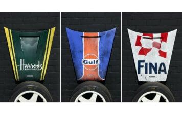 McLaren F1 Le Mans Hood Art