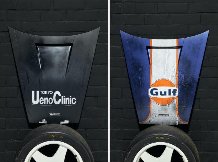 McLaren F1 Le Mans Hood Art After The Race