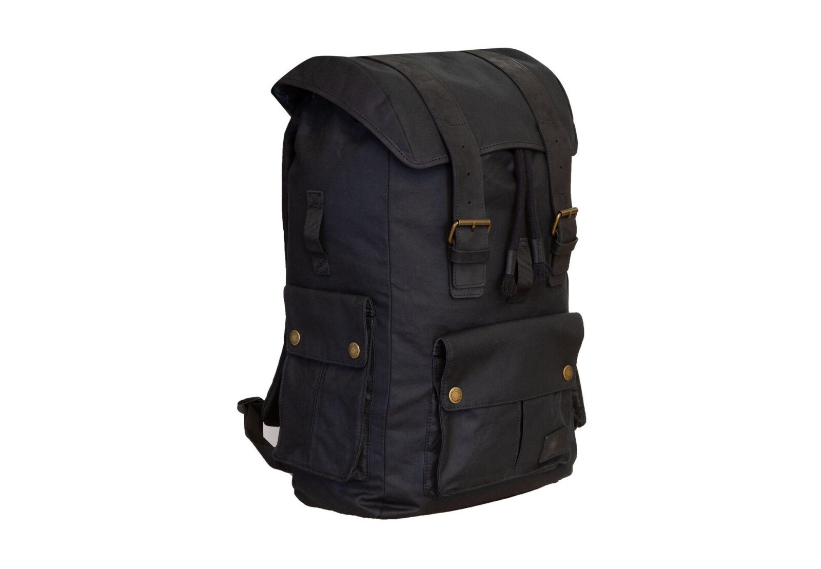 Merlin Ashby Waxed Cotton Motorcycle Rucksack
