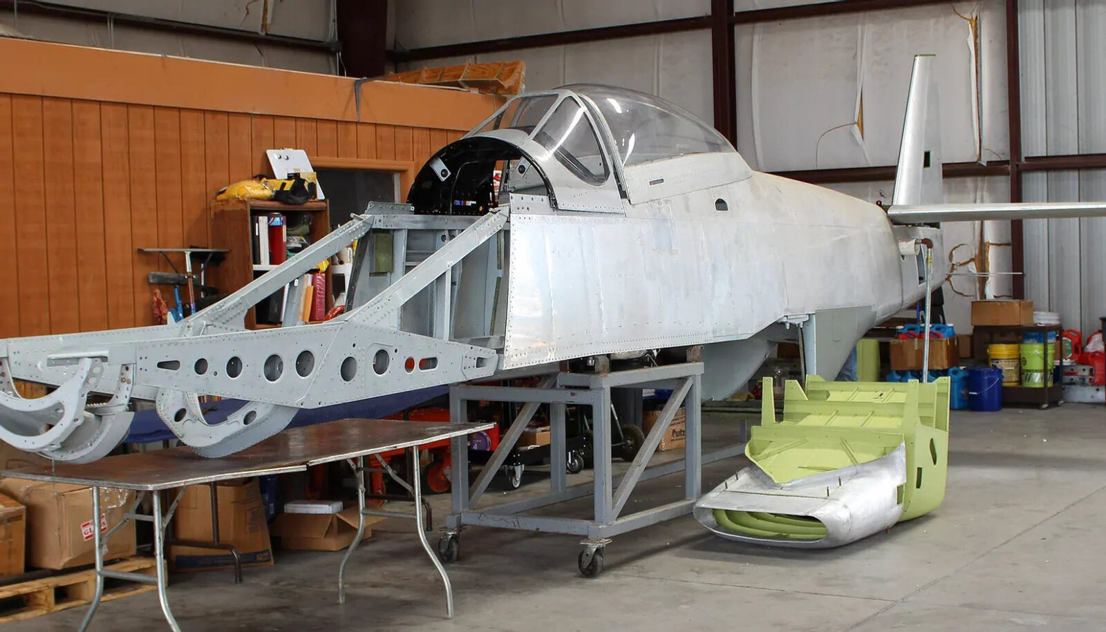 North American P-51D Mustang Restoration