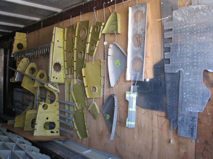 North American P-51D Mustang Restoration Parts 11