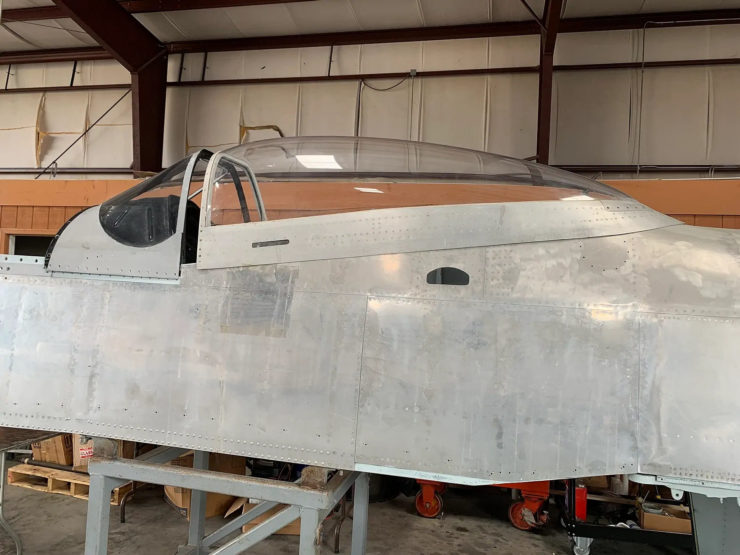 North American P-51D Mustang Restoration Parts 13
