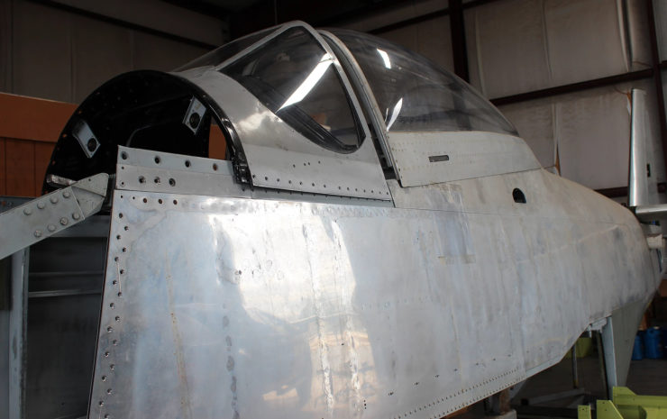 North American P-51D Mustang Restoration Parts 3