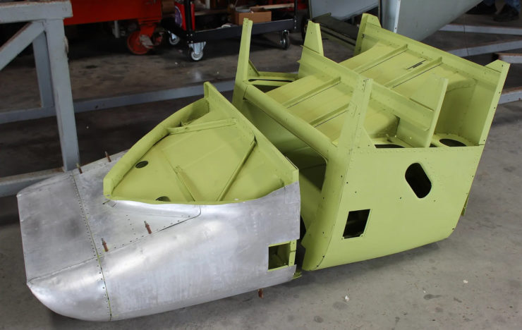 North American P-51D Mustang Restoration Parts