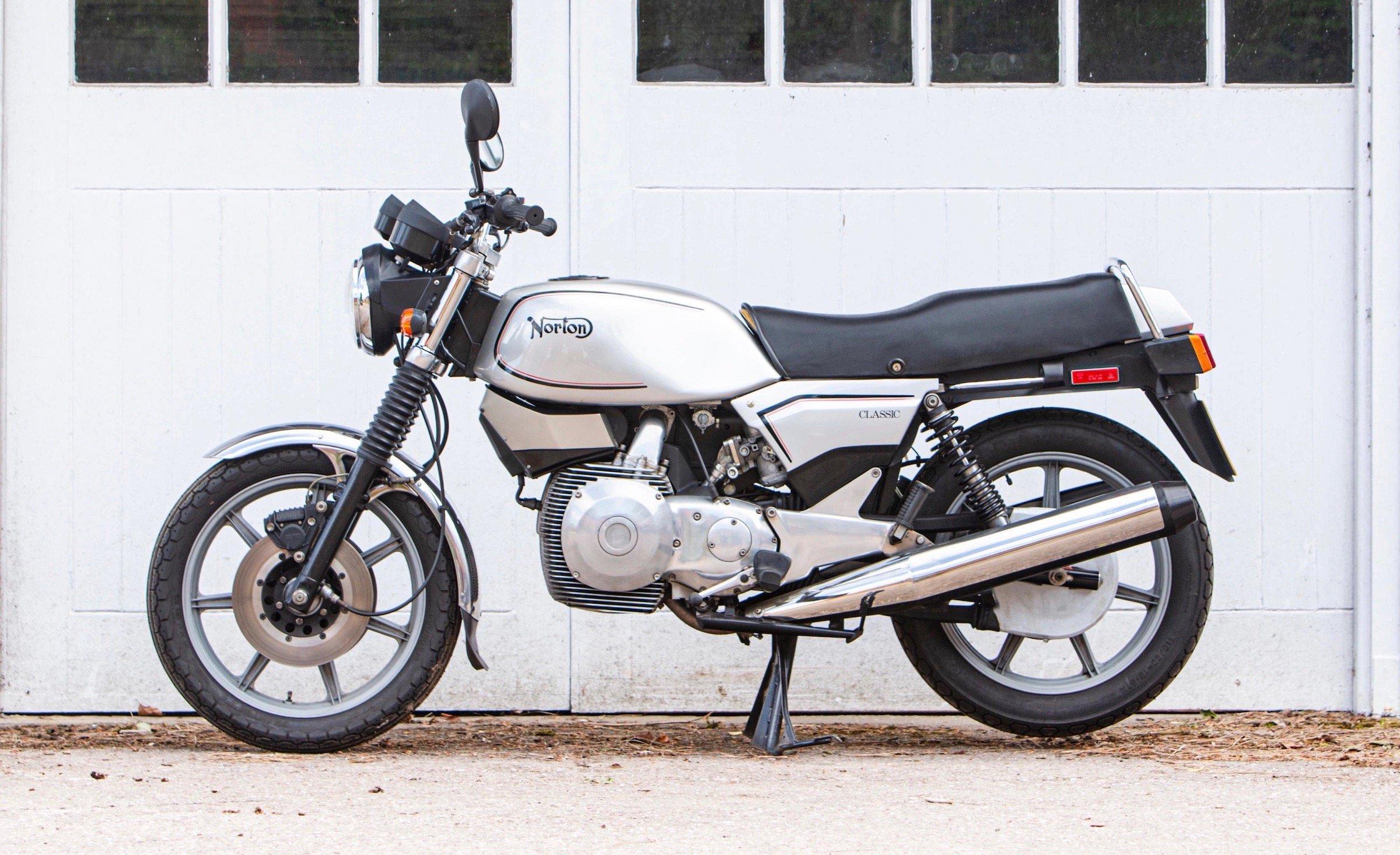 Norton Classic Motorcycle
