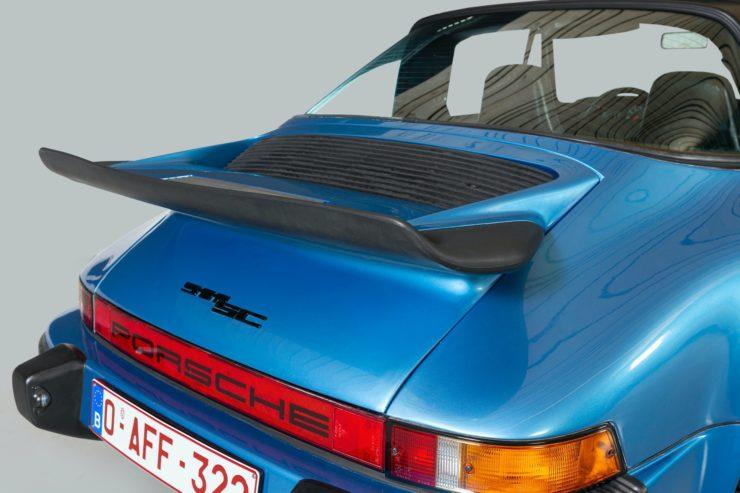 Porsche 911 SC 3.1 Tail