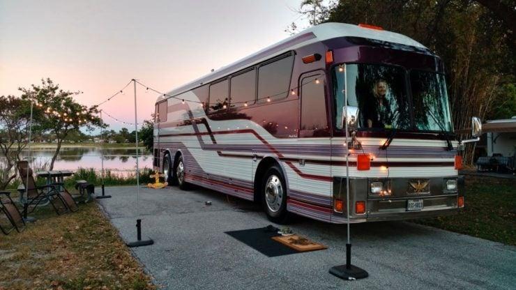 Prince Purple Rain Tour Bus