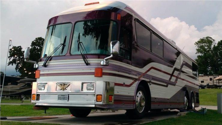 Purple Rain Tour Bus