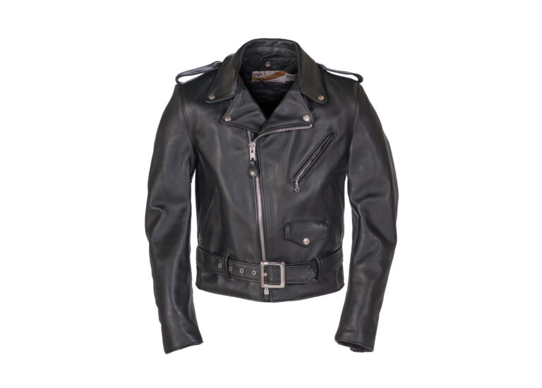 The Schott Classic Perfecto Steerhide Leather Motorcycle Jacket