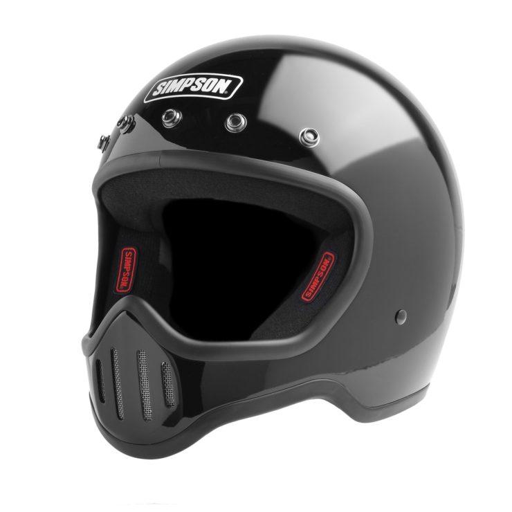 Simpson M50 Helmet Black