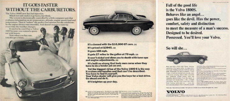 Volvo P1800 Ads