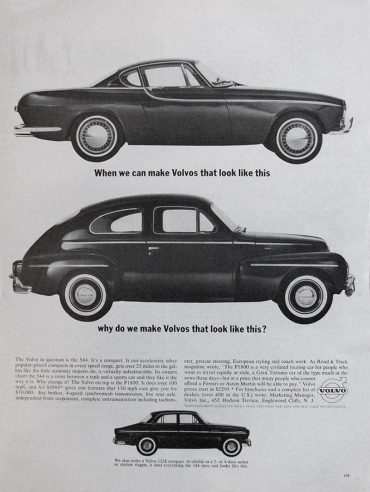 Volvo P1800 Comparison