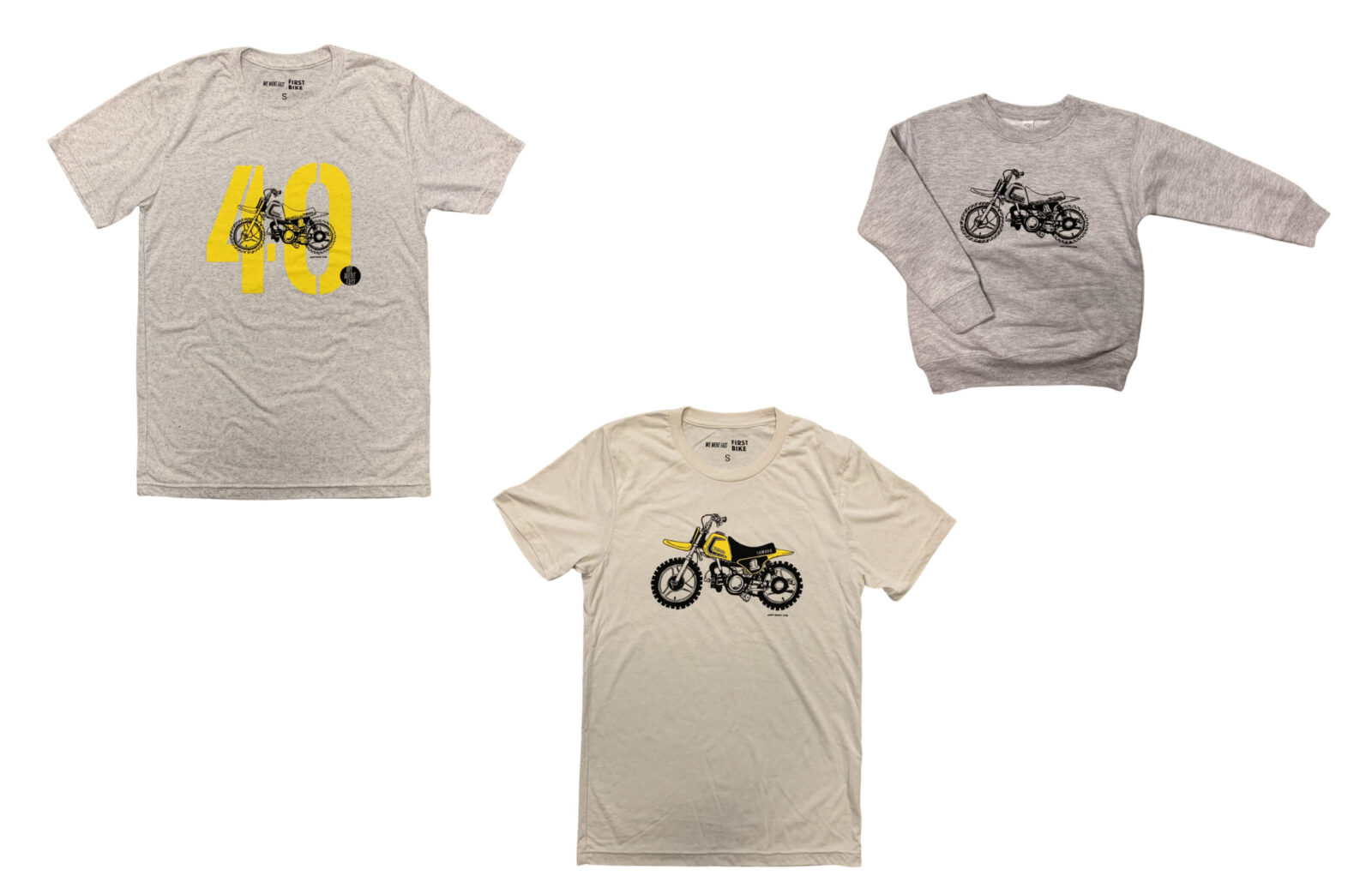 Yamaha PW50 Apparel Collection Full