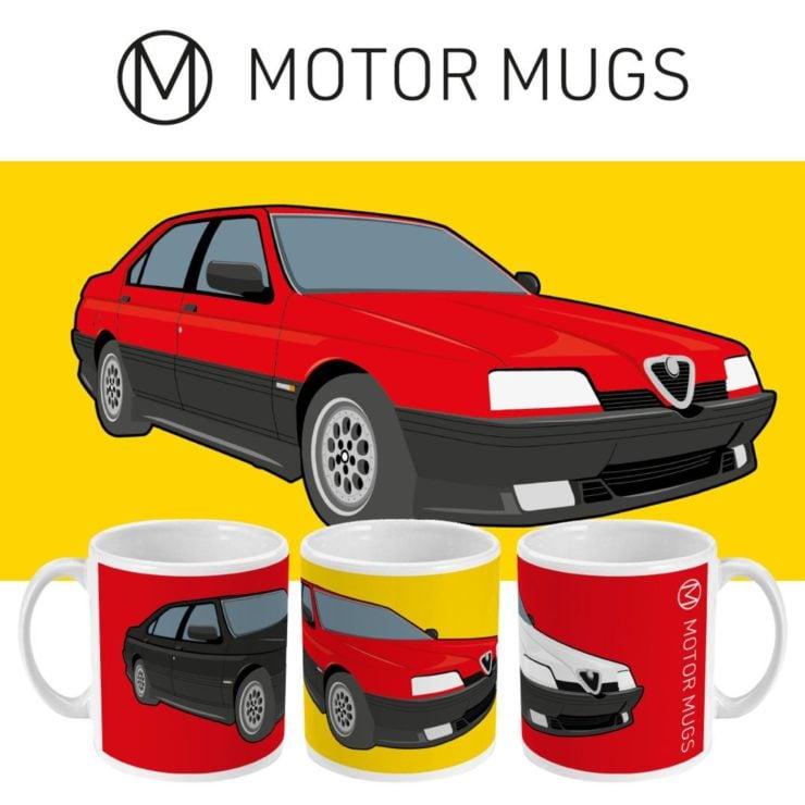 Alfa Romeo 164 Motor Mugs