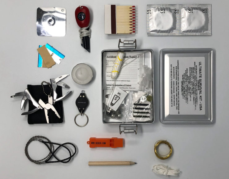 BCB International Ultimate Survival Kit Contents
