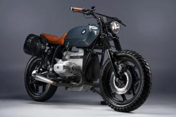 BMW R80 Custom Motorcycle 10