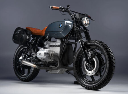 BMW R80 Custom Motorcycle 10